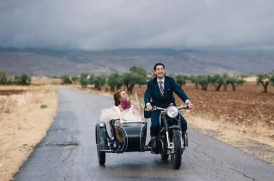 Una boda marcada por la originalidad de los novios: el gran día de Pati y Nacho