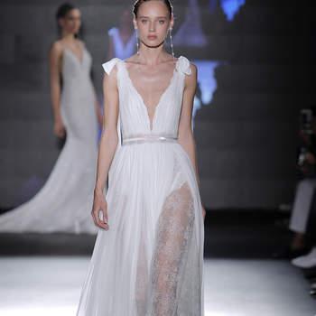 Rosa Clará. Credits_ Barcelona Bridal Fashion Week