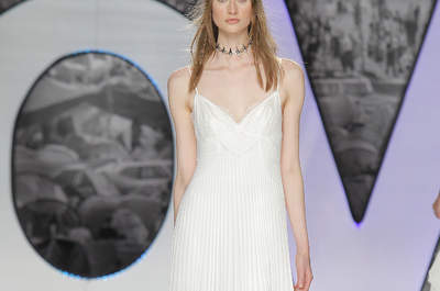 Vestidos de novia con escote en V: exquisitos diseños que harán sacar tu lado más sensual