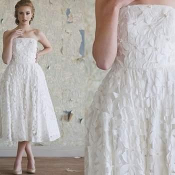 Vestido Tiffany de Ruche Bridal