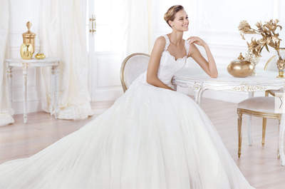 Os espetaculares vestidos de noiva Pronovias 2014