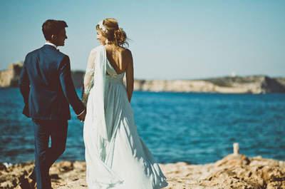 La magia de Ibiza para sellar amor eterno: así fue el 'sí quiero' de Mónica y José Alfredo