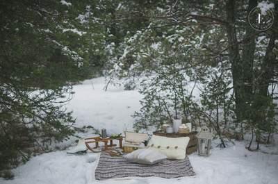 Retour sur une séance photo after wedding dans la neige