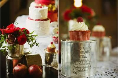 Зимняя свадьба - волшебная церемония в рождественских цветах