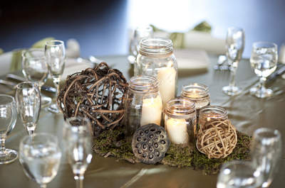Centrepieces without flowers? Here we explain how...