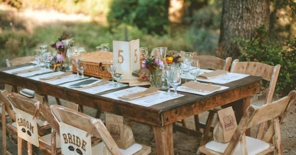 3b5ede47273 Decoración de boda DIY con mucho estilo  los 9 elementos imprescindibles