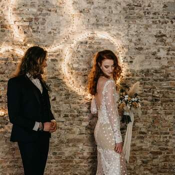 Styled Wedding Shoot met een stoer thema: Rock and Love Forever | Foto: Danielle Kroneman Photography