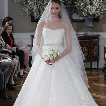 Une vraie robe de mariée de princesse.