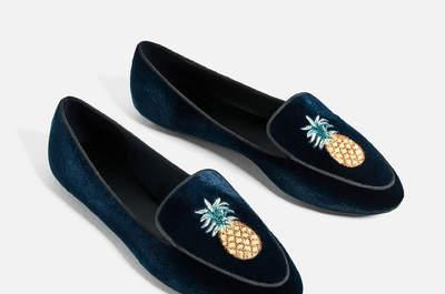 50 zapatos planos para lucir espectacular y cómoda como invitada en tu próxima boda