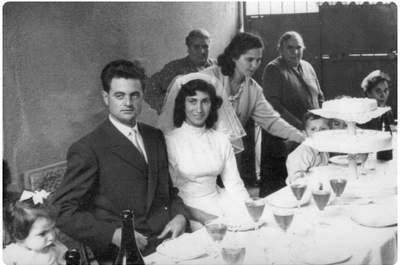 Matrimonio lombardo degli anni '50. Via belgioiosoracconta.com