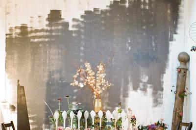 Ideas para decorar las mesas el día de tu boda