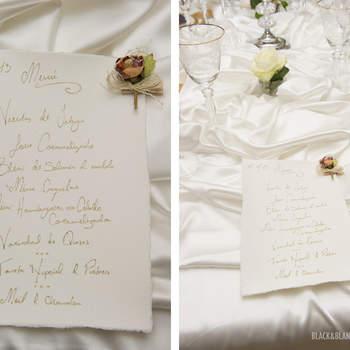 Ejemplos de las minutas que se mostraron en esta Touch & Feel Exèrience. Foto: Belle Day. http://belleday.com/es/