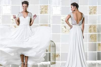 Vestidos de novia para boda civil 2017, ¡45 diseños que no querrás dejar escapar!