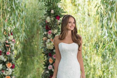 Robes de mariée Sweetheart automne-hiver 2016-2017 : une collection d'une grande finesse