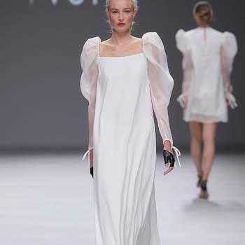 Sophie et Voilà. Credits: Barcelona Bridal Fashion week.
