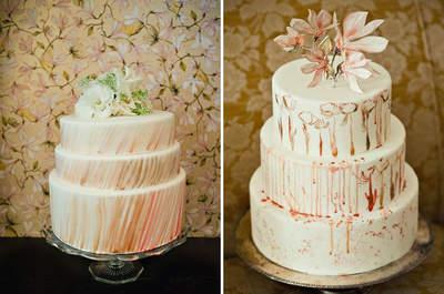 Tortas de boda. Corona la elegancia