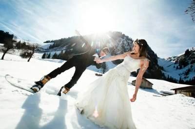 Mariage en hiver : 6 choses auxquelles penser pour que vos invités n'aient pas froid !