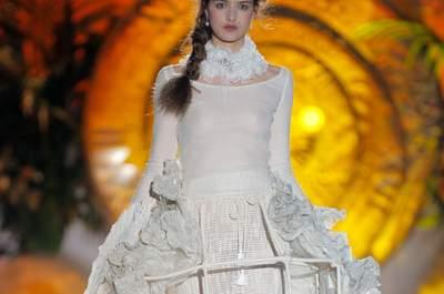 Los vestidos barrocos de Inmaculada García 2015