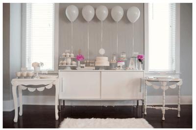 #MartesDeBodas: Una enigmática decoración de boda en color blanco... ¡Pureza absoluta!
