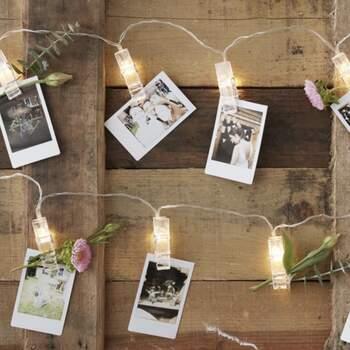 Petites Pinces Lumineuses À Led - The Wedding Shop