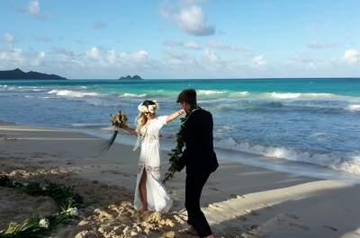 Interview: Heiraten auf Hawaii ist ein Traum vieler Paare...