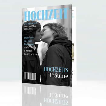"""<a> title=""""Hochzeitskarte im Stil eines Modemagazins"""" href=""""http://www.cardbycard.de/Hochzeitskarte-im-Zeitschriftenstil,detail,1111381631.html"""" target=""""_blank""""></a>"""
