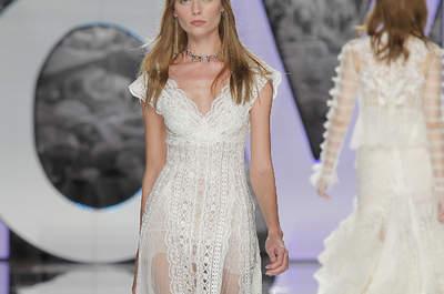 Zeitlose Brautmode: Hochzeitskleider mit V-Ausschnitt für modebewusste Frauen