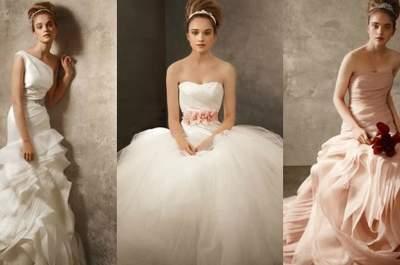 Robes romantiques et féminines White by Vera Wang 2012