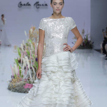 Carla Ruiz. Credits_ Barcelona Bridal Fashion Week