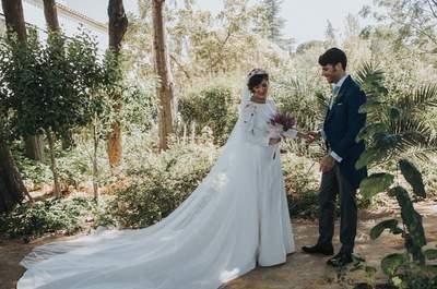 63 magníficos vestidos de novia de manga larga. ¡Enamórate al instante!