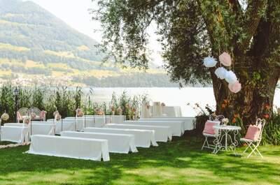 Traumhochzeit im Urkanton Schwyz – Lassen Sie sich vom Swiss-Chalet Merlischachen verzaubern!