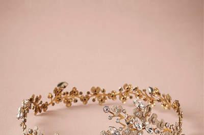 Coronas de flores para novias, ¡alegra tu peinado con mucho estilo!