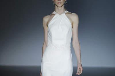 Suknie ślubne 2016: minimalistyczne proste i eleganckie!