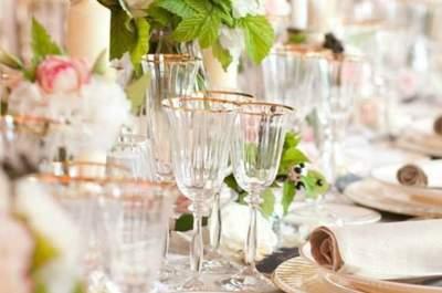 10 kreative Ideen das Hochzeits-Tafelgeschirr zu platzieren!