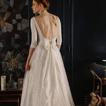 Robes de mariée avec des nœuds : le romantisme à l'état pur !