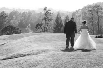 Love on the Green: California Country Club Wedding