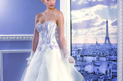 Un festival de couleurs dans la nouvelle collection Miss Paris 2017 de The Sposa Group