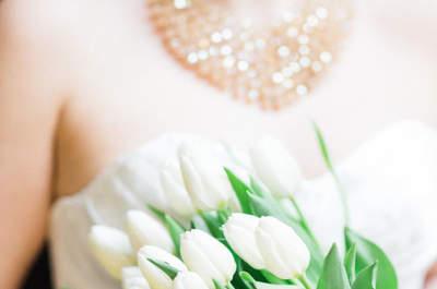 Los mejores ramos de novia con tulipanes. ¡Toma nota y elige tu favorito!