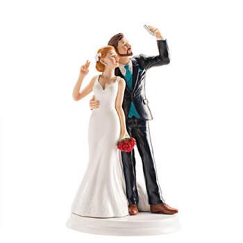 Figura Tarta Nupcial Selfie De Amor- Compra en The Wedding Shop