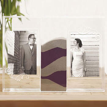 Portafotos ritual de la arena- Compra en The Wedding Shop