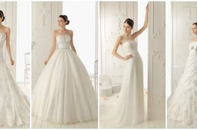 Aire Barcelona 2013: romance e elegância nos vestidos de noiva