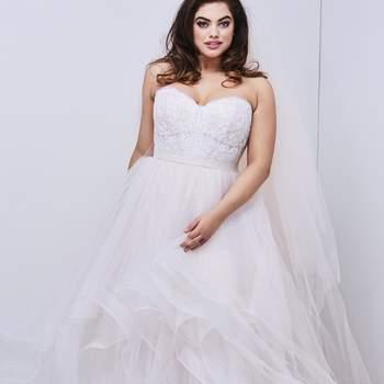 Modelo vestido Falda Effie da Wtoo