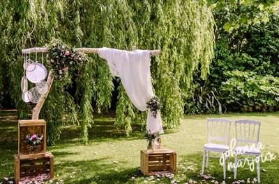 Bar à thème, objets décos : retrouvez l'essentiel de la décoration de votre mariage chez Ma Sweet Table