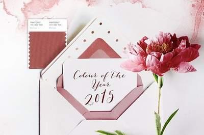 «Марсала» станет цветом 2015 года: сделай его цветом вашей свадьбы!