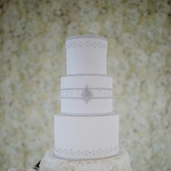 Inspiração para bolos de casamento de 3 andares | Créditos: The Cake Shop - Cake Design by Sónia Marreiros