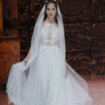 Inmaculada. Credits: Barcelona Bridal Fashion Week