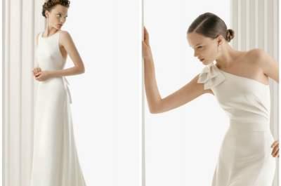 I migliori abiti 2012 per la sposa che ama la semplicità