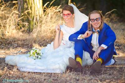 Zakochał się w jej uśmiechu i tak już pozostało...mięli piękny ślub i wesele!