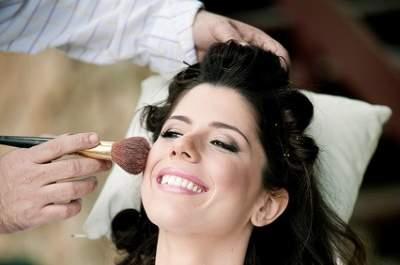 A importância dos testes de cabelo e maquiagem da noiva