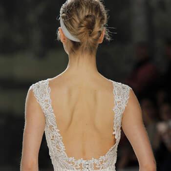 Vestidos de novia con espalda descubierta: ¡Te cautivarán!